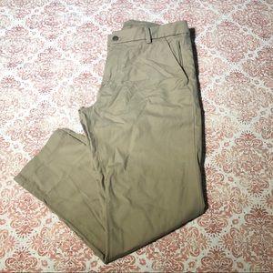 LULULEMON   khaki athletic/work pants size 32